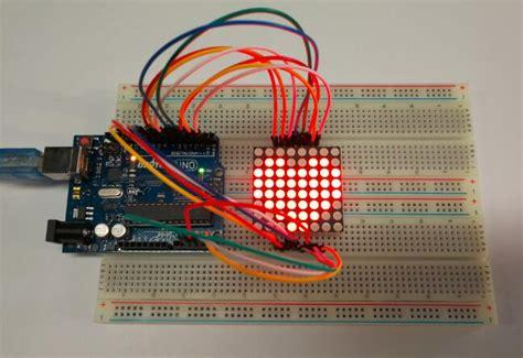 arduino lesson  led matrix osoyoocom