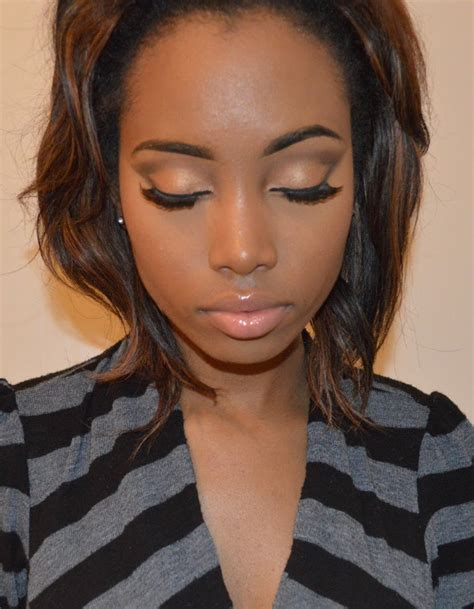 eyeshadow for light brown skin natural quot everyday quot foundation routine for brown skin women