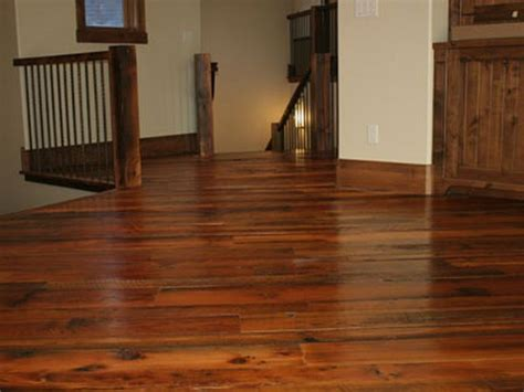 flooring done by reclaimed wood an opening move toward a