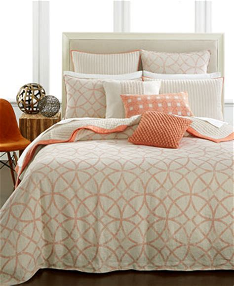 Macys Comforter Cover by Hotel Collection Textured Lattice Linen Duvet Covers Only