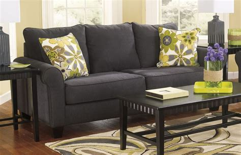 16 nolana charcoal sofa loveseat buy