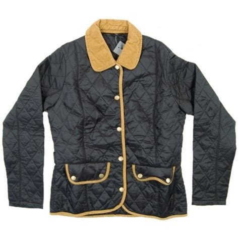 Barbour Vintage Quilted Jacket by Barbour Vintage Quilted Jacket Black Womens