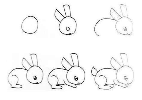 imagenes de dibujos faciles para dibujar con pasos imagenes de conejos faciles para dibujar archivos