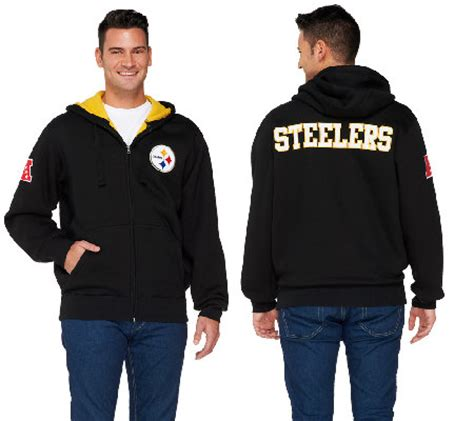 qvc nfl fan shop nfl team colors fully lined sherpa zip up hoodie qvc com