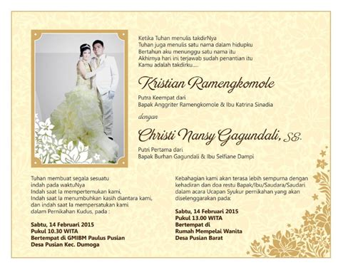 template undangan pernikahan lucu artikel tips pernikahan dan contoh undangan pernikahan