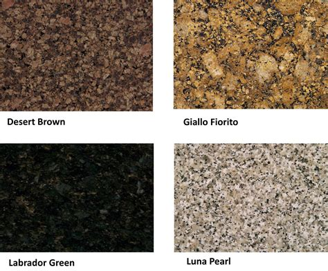 Granite Kitchen Countertop Colors by Granite Colors Tisch Granite And Marble