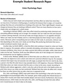 Examples Of Scientific Research Papers Science Essay Examples Science Essay Subject Science