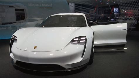 electric porsche supercar the future of supercars electric or petrol cnn video