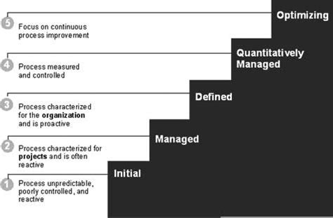 Best Resume Sections by Cmmi Maturity Levels
