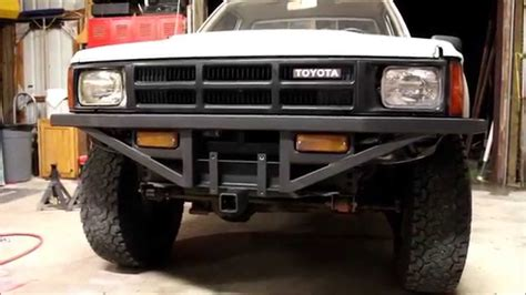 diy offroad cer front and rear bumpers toyota