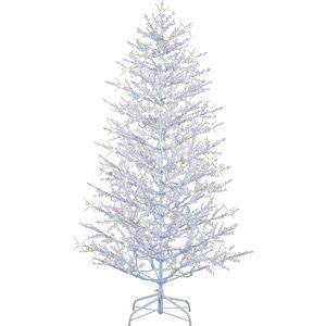 home depot winterberry outdoorlit tree ge pre lit 7 winterberry artificial tree white totally wants this amanda i