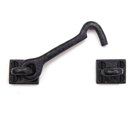 Cabin Hook Solid Cast Iron Latch Cabinet Gate Door Garage Cabinet Door Hooks