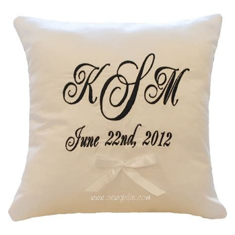 monogrammed bed pillows monogrammed pillows bed great home decor decorate