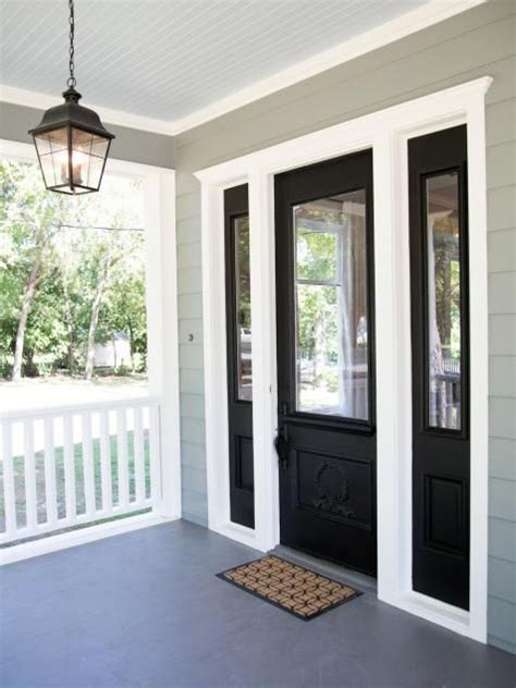 exterior colors front doors and small towns on