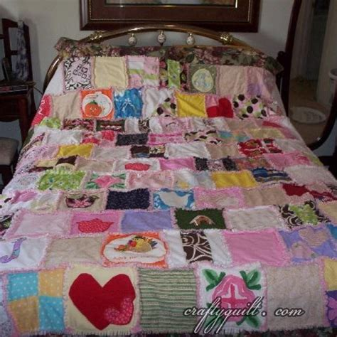 baby clothes memory quilt projects for the