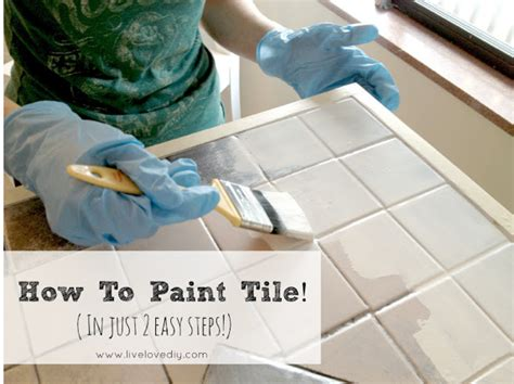 How To Paint Ceramic Tile Floor by Paint Ceramic Tiles On Painting Bathroom Tiles