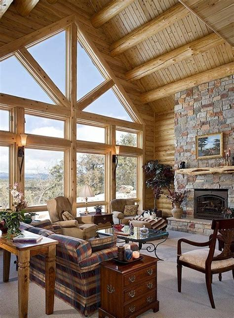 Log Cabin Interiors Photo Gallery Michigan Cedar | log cabin interiors cabin interiors and log cabins on