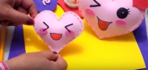 imagenes de corazones en foami corazones kawai con efecto 3d manualidades en goma eva y