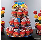 Cars Cupcake Tower How To  Party City