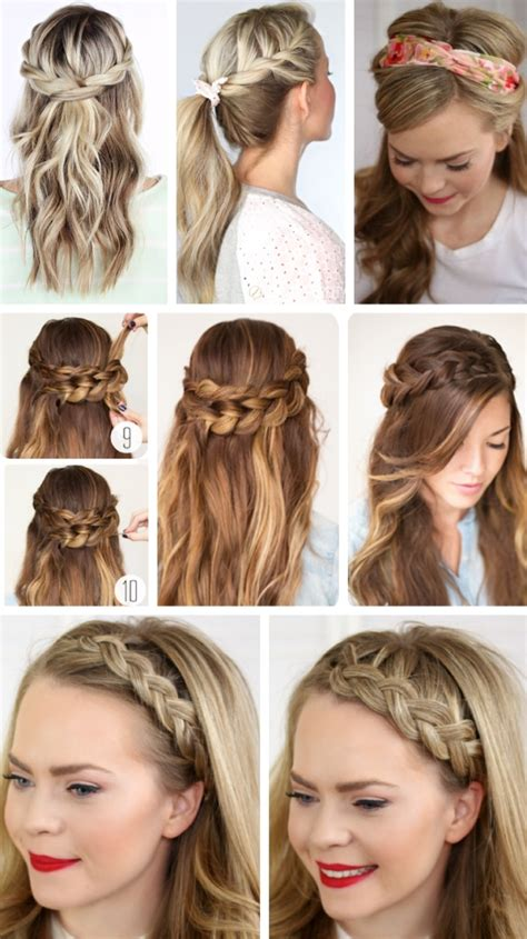 Quick easy formal party hairstyles for long hair diy ideas 2018