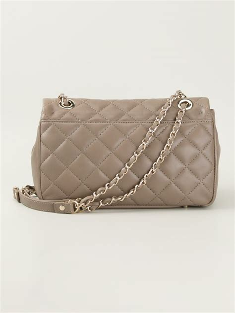 Quilted Crossbody Purse by Dkny Quilted Crossbody Bag In Gray Lyst