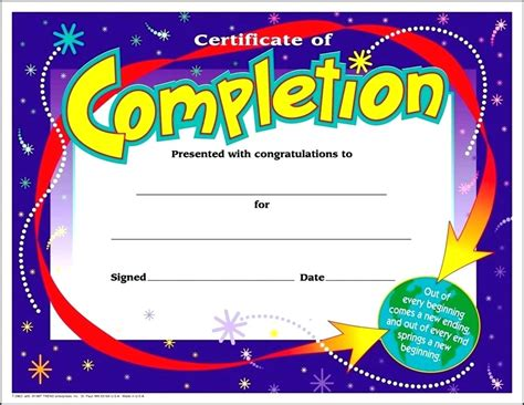 free vbs certificate templates printable printable vbs completion certificates