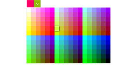 jquery html5 colorpicker component kendo ui web jquery