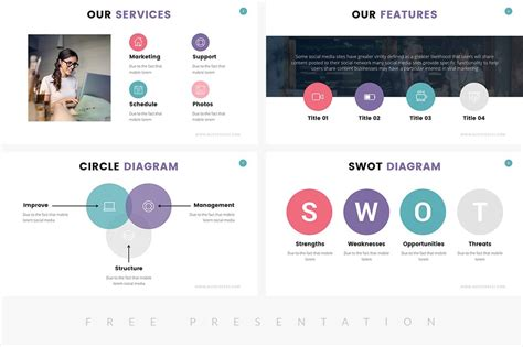 Zane Free Presentation Template Presentations On Slideforest Website Presentation Template