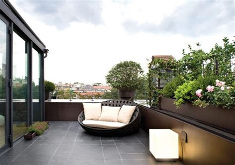 beautiful private terraces
