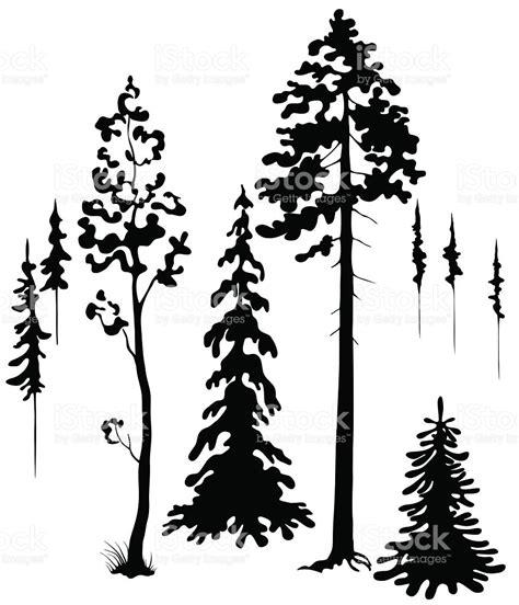 trees silhouettes stock vector art 498364441 istock