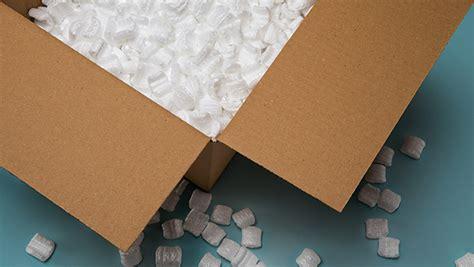 Styrofoam Package Of Fragile Pecah Belah preparing shipments usps