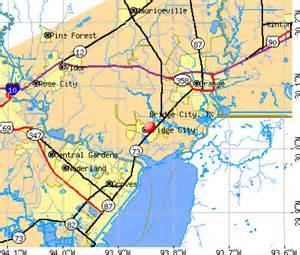 bridge city map bridge city tx 77611 77630 profile population