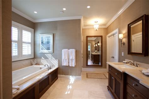 master suite bathroom british colonial master suite traditional bathroom charlotte by loftus design llc