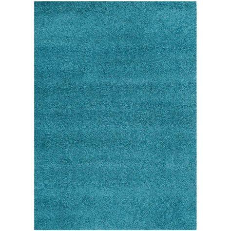 turquoise shag area rug safavieh laguna shag turquoise 5 ft 3 in x 7 ft 6 in area rug sgl303t 5 the home depot