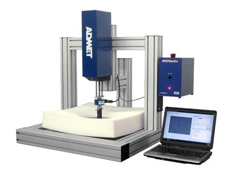 admet introduces expert 5600f series foam testing machines