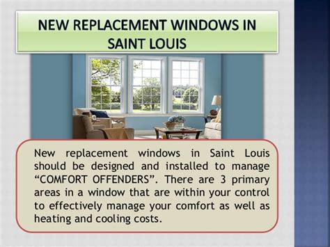 air comfort st louis customize home windows with air infiltration in saint louis