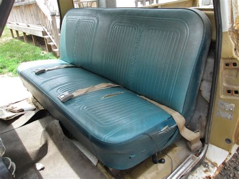 chevy pickup bench seat 1967 1972 chevy c10 pickup truck blazer bench seat nex