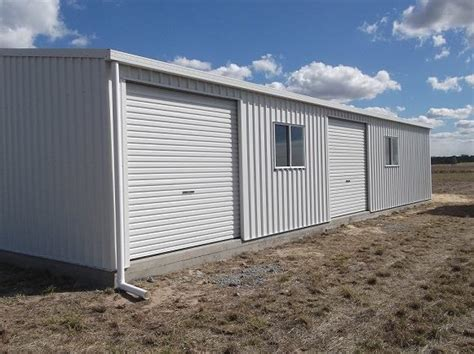 new storage shed at welcome creek