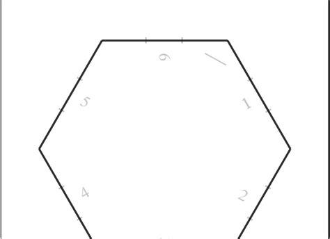 hpi template telecanter s receding hex geo template