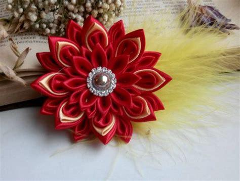 fiori di stoffa per capelli oltre 25 fantastiche idee su nastro di stoffa su