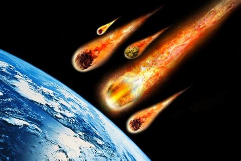 falling comet in the earth s atmosphere background hd where do meteorites come from 187 science abc