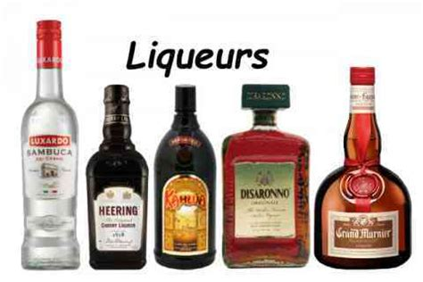 liqueur or liquor what s the difference