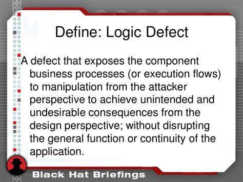design flaw definition defying logic business logic testing with automation
