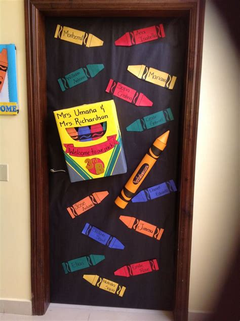 como decorar las puertas en google de un salon de preescolar decoraciones de puertas mi escuela pinterest puertas