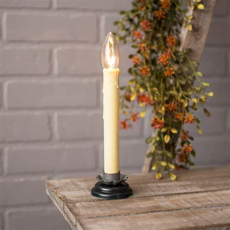 Electric Candles For Windows Decor No Dr 6419 Lights And Decor 7 5 In Country Candle L Electric In Ebay