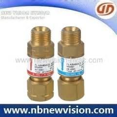 Flashback Arrestor For Torch Oxygen Acetylene Limited flashback arrestor for regulator manufacturers and