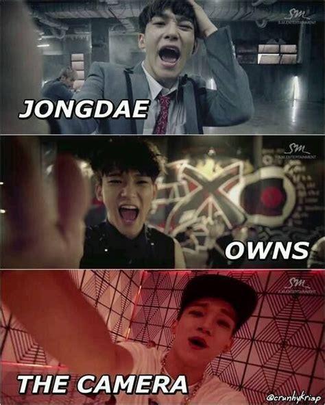 Exo Meme - chen owns the camera xd exo pinterest the o jays