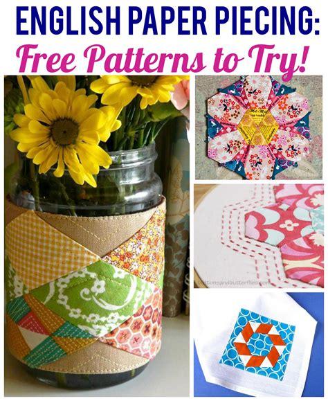 free patterns english paper piecing english paper piecing free patterns