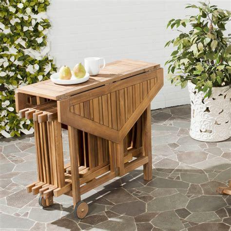 mesas jardin plegables mesas de madera plegables