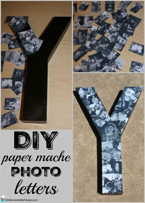 How To Make Paper Mache Letters - 25 best ideas about paper mache letters on